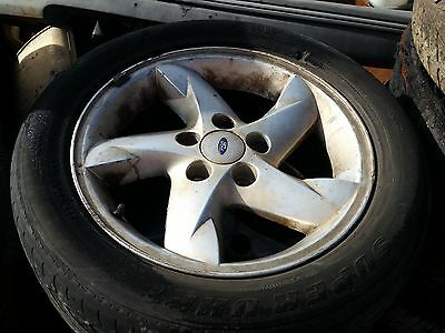 ford au falcon xr8 set of 4 alloy wheels and tyres mags