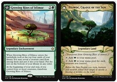 MTG IXL IXALAN  VO R  Growing Rites of Itlimoc / Itlimoc, Cradle of the Sun