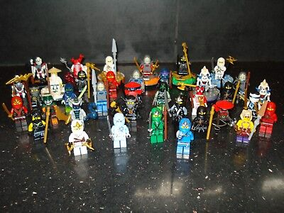 Lego Genuine - Ninjago / Mini Figure - Multiple Variations!