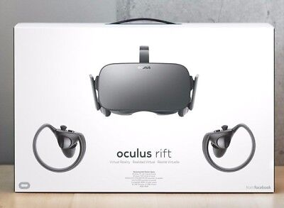 OCULUS Rift & Touch Bundle - Full virtual reality experience at home
