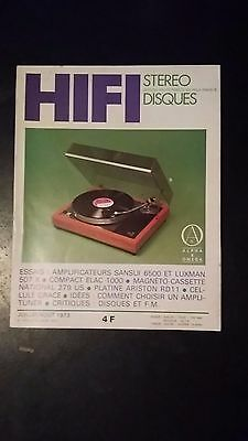 Hifi Stereo - N° 1413 - Juillet/Aout 1973