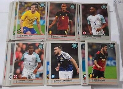 Panini Road to 2018 FIFA World Cup Russia STICKERS - PICK 10 STICKERS FROM LIST