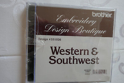 Brother Stickkare Western & Southwest Embroidery Design Boutique 10 x 10 cm