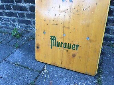 Folding Vintage Bierkeller Tables and Benches