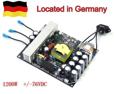 1200W power amplifier switching power supply AMP PSU board +/-DC76V for amp   GE