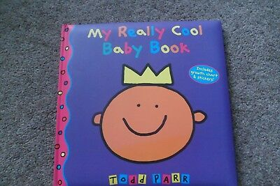 """Colourful Adoption Life Story Book """"my Really Cool Baby Book"""" By Todd Parr**new*"""