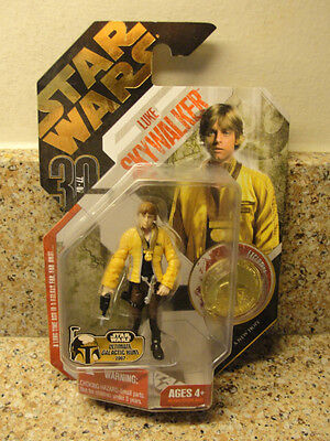 Star Wars - Luke Skywalker - New Hope Vintage1997 Action Figure - Factory Sealed