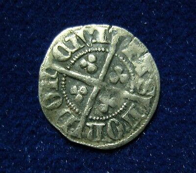 Undated Silver Hammered Coin (Edward I penny?)