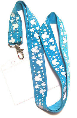 * Disney Lanyard Mickey Mouse Ears With Passholder * Cell Phone * ID Key * UK