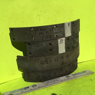 46-51 FORD CAR//TRUCK BRAKE SHOES WOVEN LINING BRAND NEW #37..WOVEN LINING