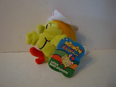 Little Miss Spendid Playmates Toys Mr Men and Little Miss Plush Doll Toy 1997