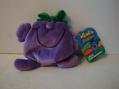 Little Miss Naughty Playmates Toys Mr Men and Little Miss Plush Doll Toy 1997