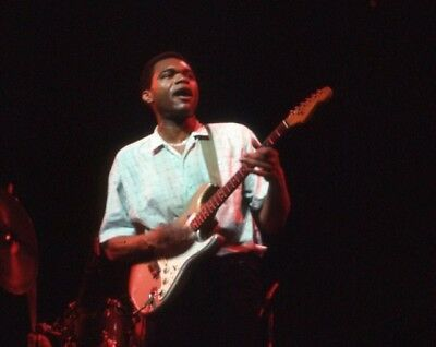 Robert Cray One 35Mm Color Slide With Copyrights