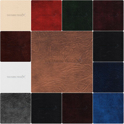 Expandable Leatherette Upholstery Grade Material Faux Leather Fabric 137Cm Wide