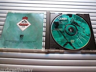 Queen - News of the world - CD - USA - first ever release on CD + 1 bonus track