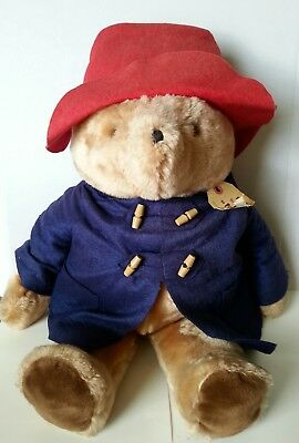 "Vintage Paddington Bear Large 24"" Plush - Eden"