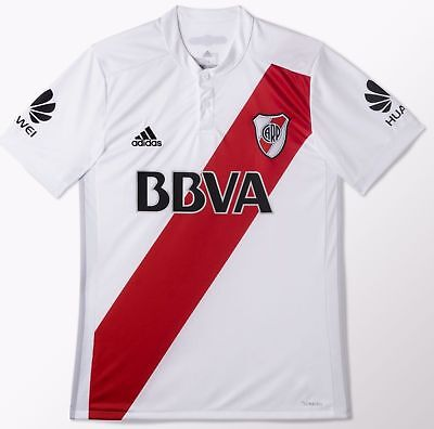 River Plate 2018 Home Soccer Jersey Shirt Climacool Argentina
