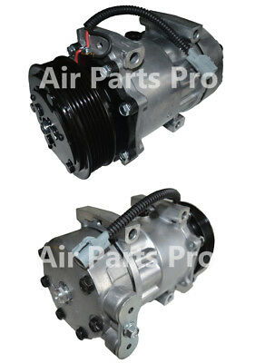 A/C Compressor W/Clutch NEW for Jeeps, Sanden type 4691, 4650, 4703, 4722, 4770