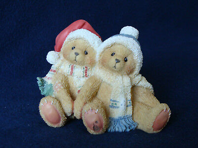 Cherished Teddies - Jamie And Ashley - Boy And Girl In Hats/Scarves - 141224