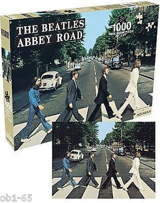 BEATLES ABBEY ROAD 1000 Piece PUZZLE New Sealed 20 x 27 Jigsaw Official Licensed