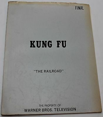 Kung Fu * 1974 Original TV Show Script * Only episode ever to have HARRISON FORD