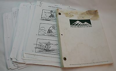 Meet the Deedles * 1997 Storyboards & Screenplay * Rare early career Paul Walker