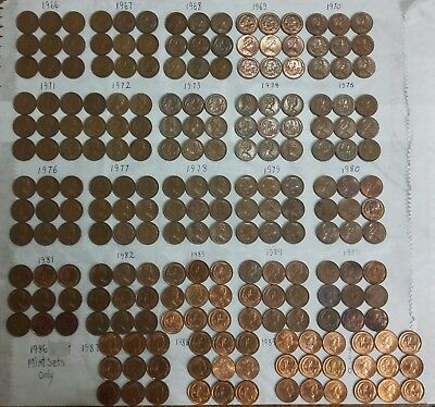 1966/1968/1990 Australian 1 cent piece Collection set Read Description