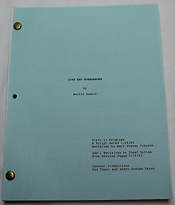 Cops and Robbersons * 1993 Original Movie Script * Chevy Chase, Comedy