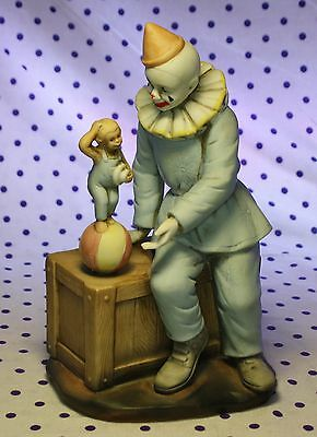 1985 Flambro Clown Figurine Paul Jung Neat Makeup Limited Edition Numbered