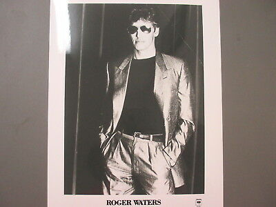 Roger Waters Pink Floyd promo photo 8 X 10 glossy black & white Pink Floyd !