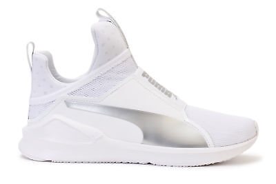 finest selection 718a7 0e334 PUMA WOMEN'S FIERCE Core Training Shoes White Silver 188977-13