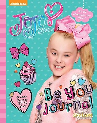 JoJo Siwa Be You Journal Hardcover YouTube Vlogger Supperstar BRAND NEW 2017
