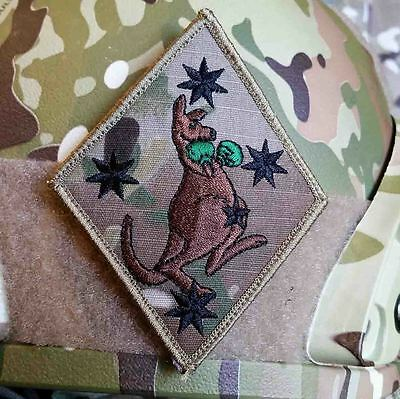 Multicam Southern Cross Boxing Kangaroo Patch - Excellent Design & Quality