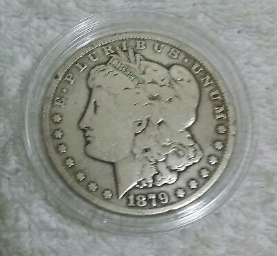 1879 CC Morgan Silver Dollar Rare key date