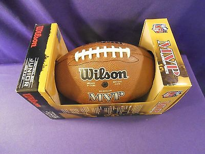WILSON NFL AUTHENTIC NATIONAL FOOTBALL LEAGUE GAME FOOTBALL Junior Tackified
