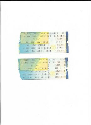 ZZ Top Concert Tickets (2) from August 4, 1983, Clean