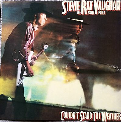 Stevie Ray Vaughan Couldn't Stand The Weather RARE promo 12x12 flat '84