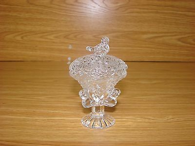 Hofbauer Byrdes Collection Mini Candy Dish with Lid or Trinket Dish-Triple Birds