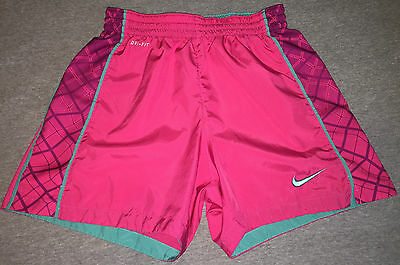 Nike Women's Dri Fit Running Athletic Shorts Size XS Pink