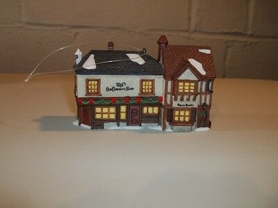"""Dept 56 Christmas Ornament """"The Old Curiosity Shop"""" Dickens Village Series"""