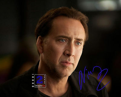 "Nicolas Cage Signed 10""x 8""Color PHOTO REPRINT"