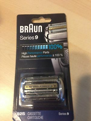 braun series 9 -92 s cartridge Purchase One With Shaver To Save Shipping