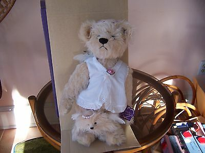 "Annette Funicello Ltd.Ed. Mohair Bears - Grandmother Bear - ""Donatella/Baby Dona"