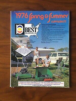 Vintage Best 1976 Catalog Spring And Summer