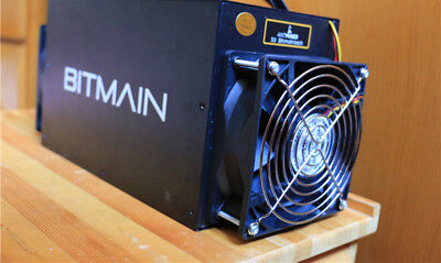 Bitmain AntMiner S3+ Bitcoin Crypto Currency Miner - Excellent Condition
