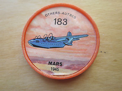 Canadian JELLO, HOSTESS COINS (1960) Aviation Planes Others # 183 Mars 1945