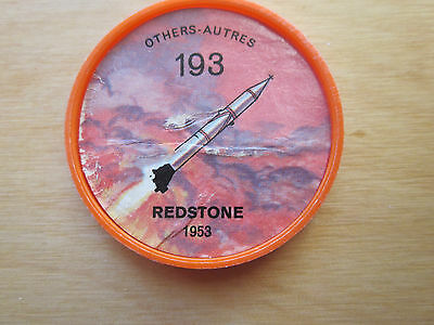 Canadian JELLO, HOSTESS COINS (1960) Aviation Planes Others # 193 Redstone 1953