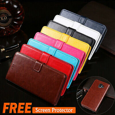 For Samsung Galaxy J2 Pro 2018 J3 J5 J7 Pro Leather Wallet Card Flip Case Cover