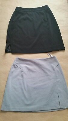 THE LIMITED STRETCH & Paul Harris Design Womens Lot of 2 Skirts Size 8