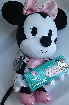 NEW w/Tags Hallmark Disney MINNIE MOUSE Plush Doll & Matching Skirt For Child